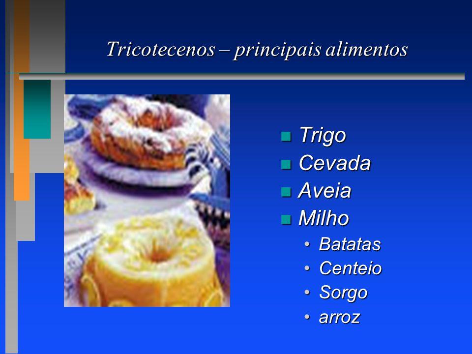 Tricotecenos – principais alimentos
