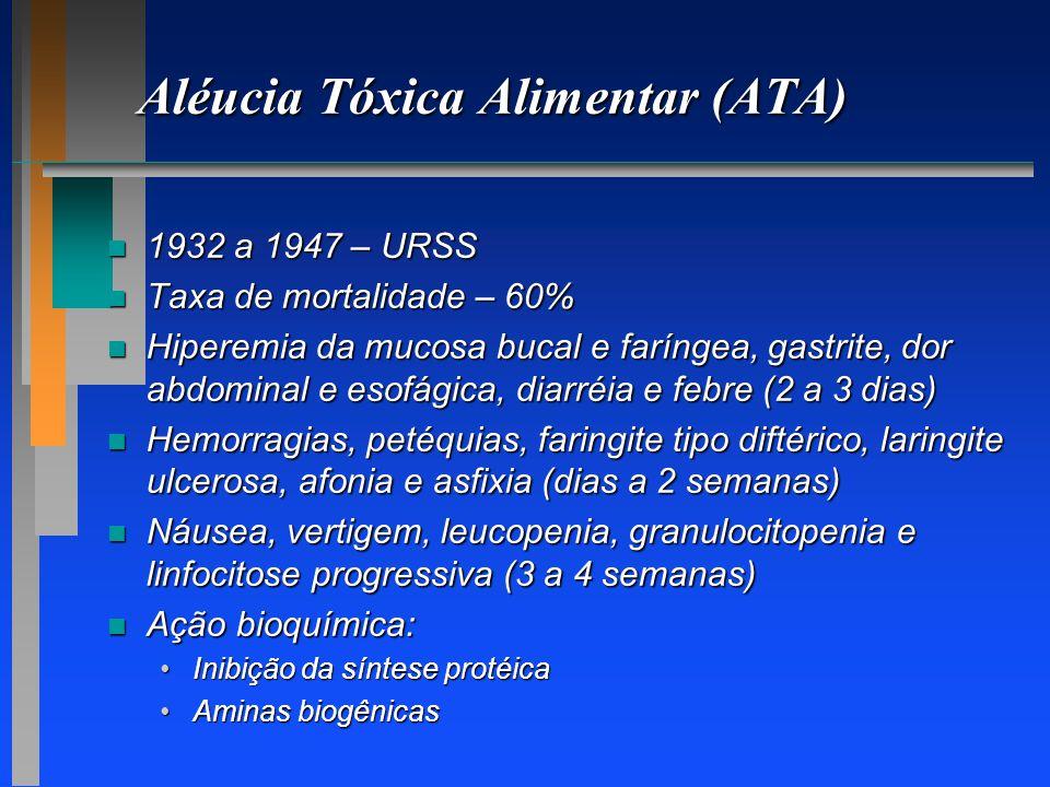 Aléucia Tóxica Alimentar (ATA)