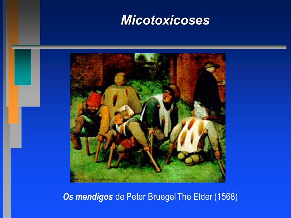 Os mendigos de Peter Bruegel The Elder (1568)