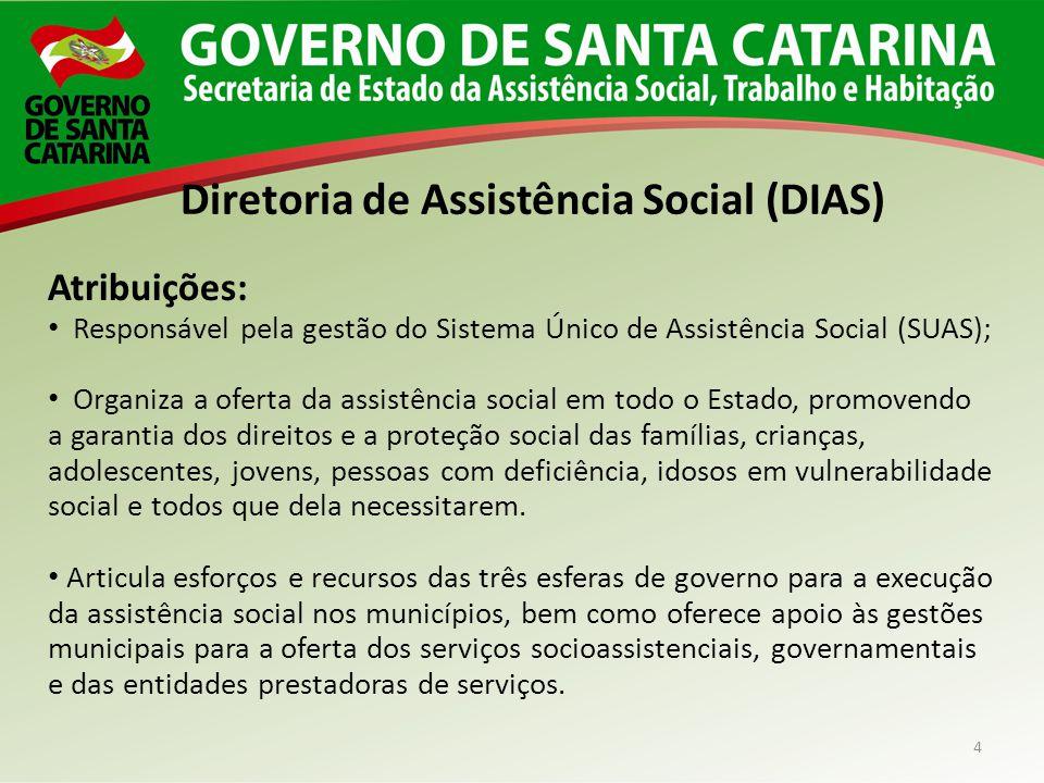 Diretoria de Assistência Social (DIAS)