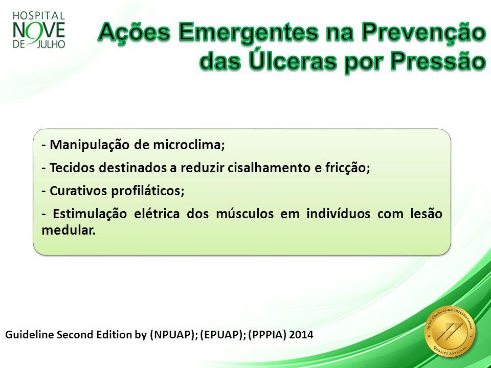 Ações Emergentes na Prevenção das Úlceras por Pressão