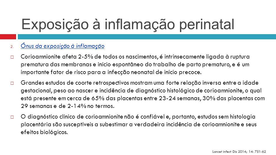 Exposição à inflamação perinatal