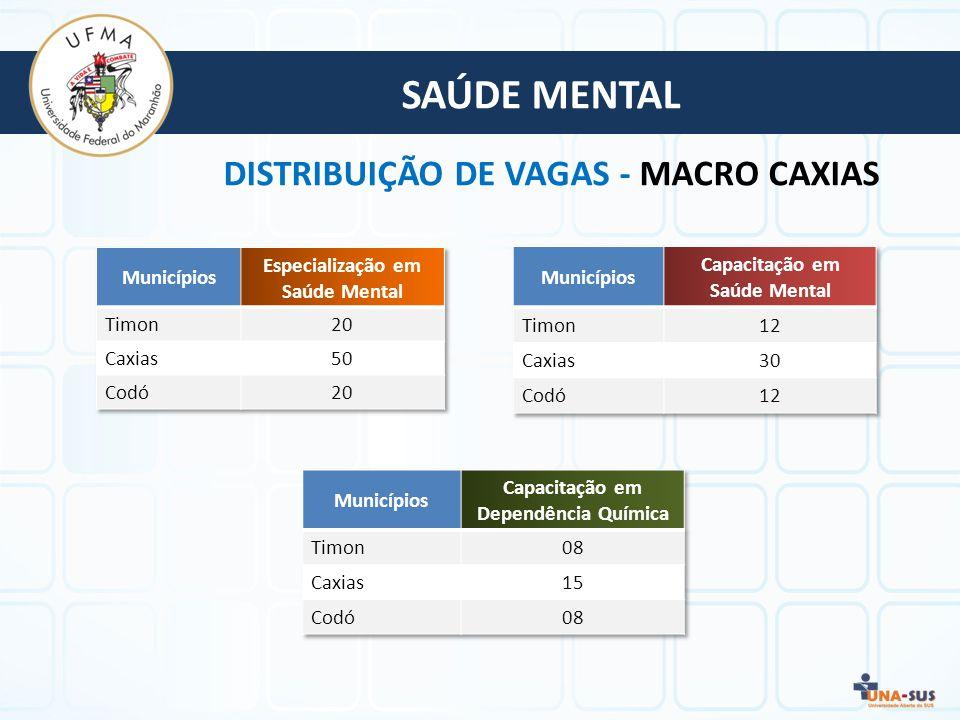 Capacitação em Saúde Mental Capacitação em Dependência Química