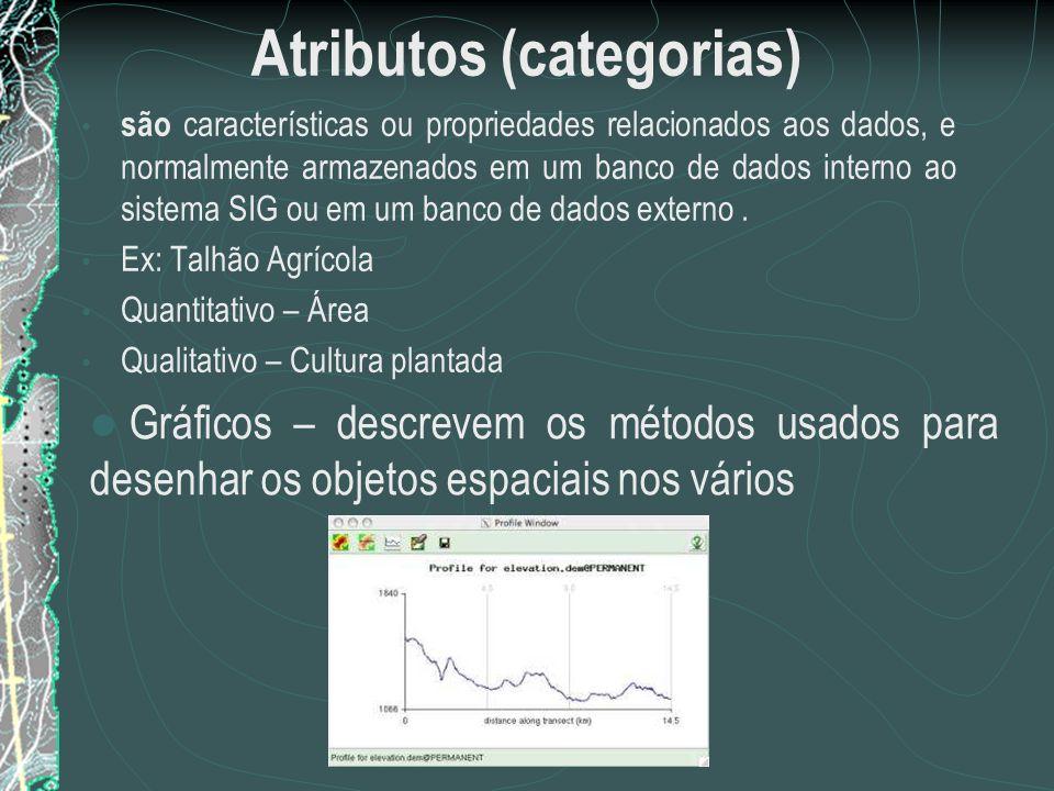 Atributos (categorias)