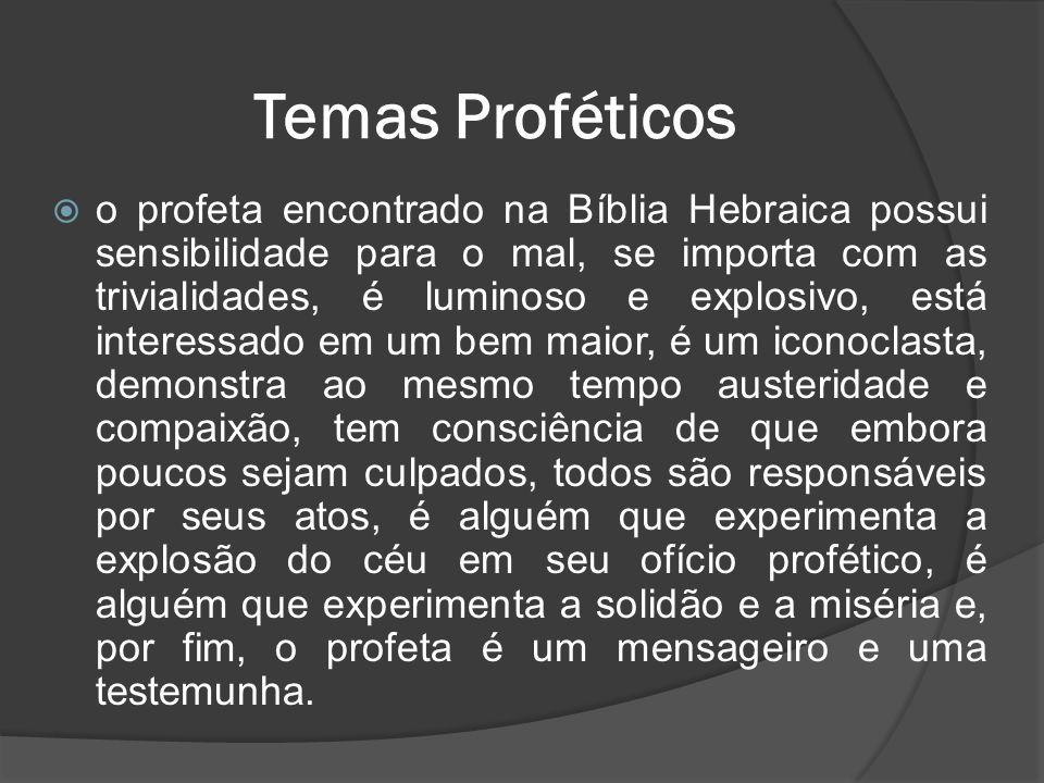 Temas Proféticos