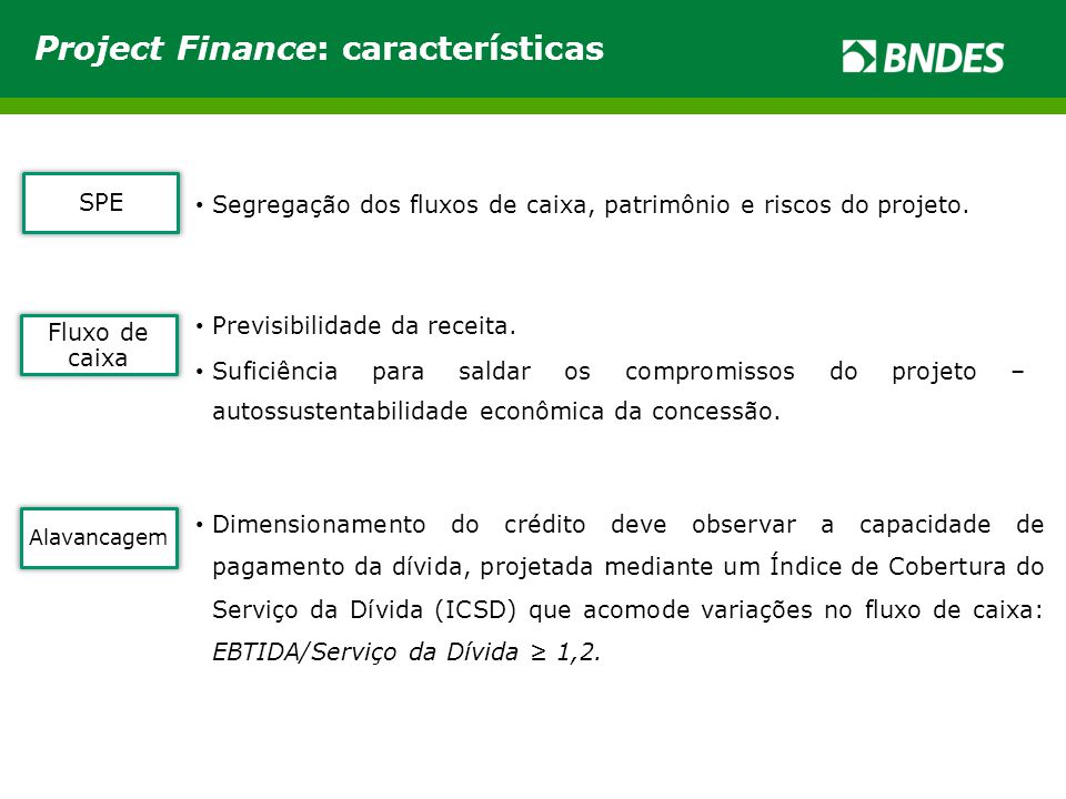 Project Finance: características