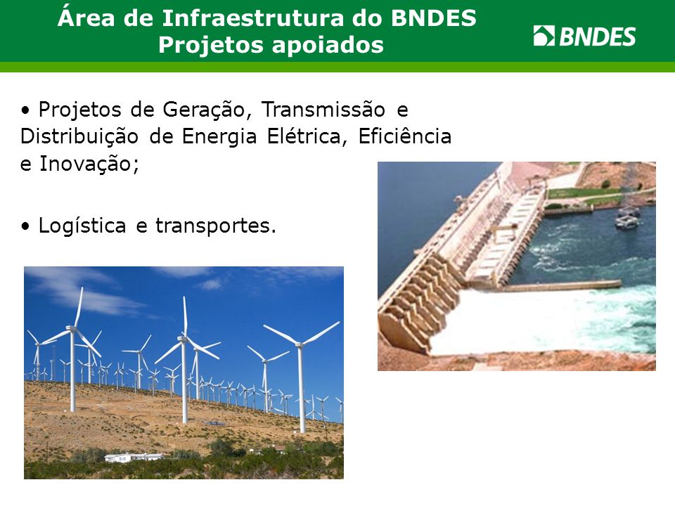Área de Infraestrutura do BNDES