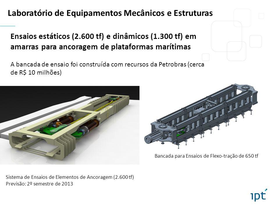 Laboratório de Equipamentos Mecânicos e Estruturas