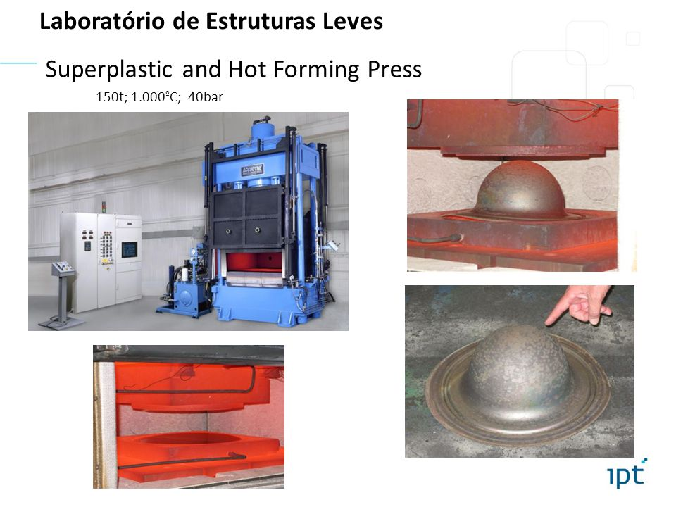 Superplastic and Hot Forming Press