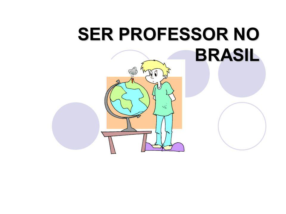 SER PROFESSOR NO BRASIL