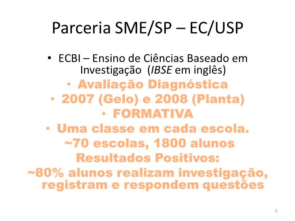 Parceria SME/SP – EC/USP