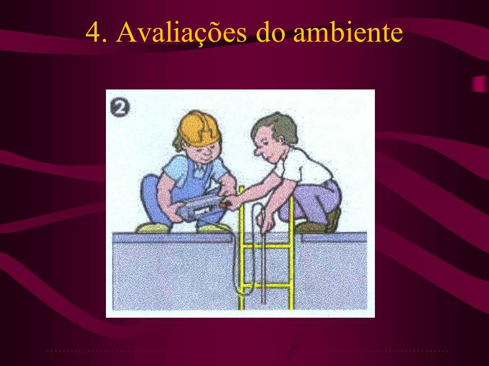 4. Avaliações do ambiente