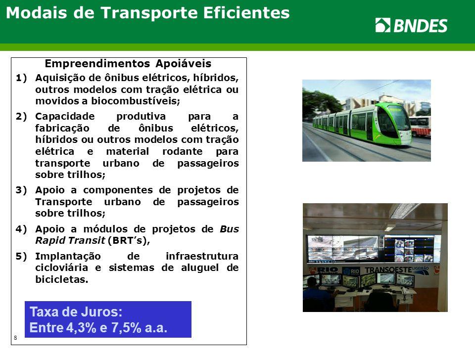 Modais de Transporte Eficientes
