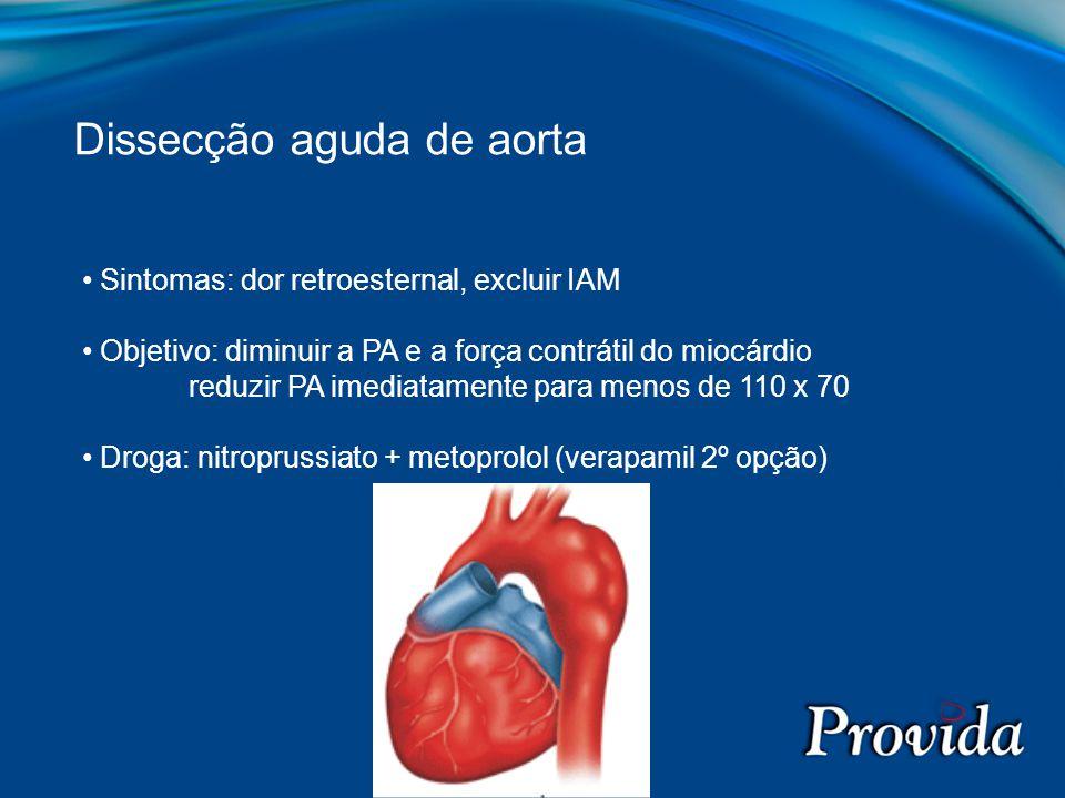Dissecção aguda de aorta