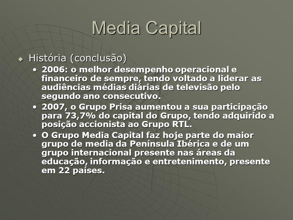 Media Capital História (conclusão)