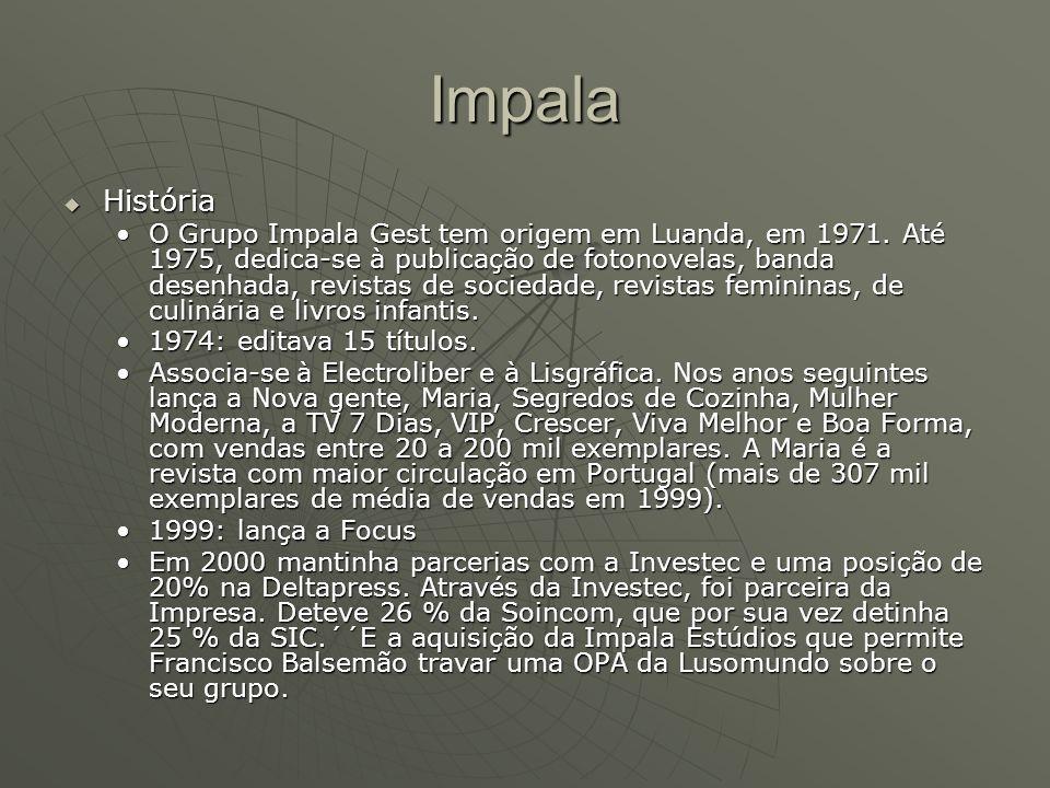 Impala História.