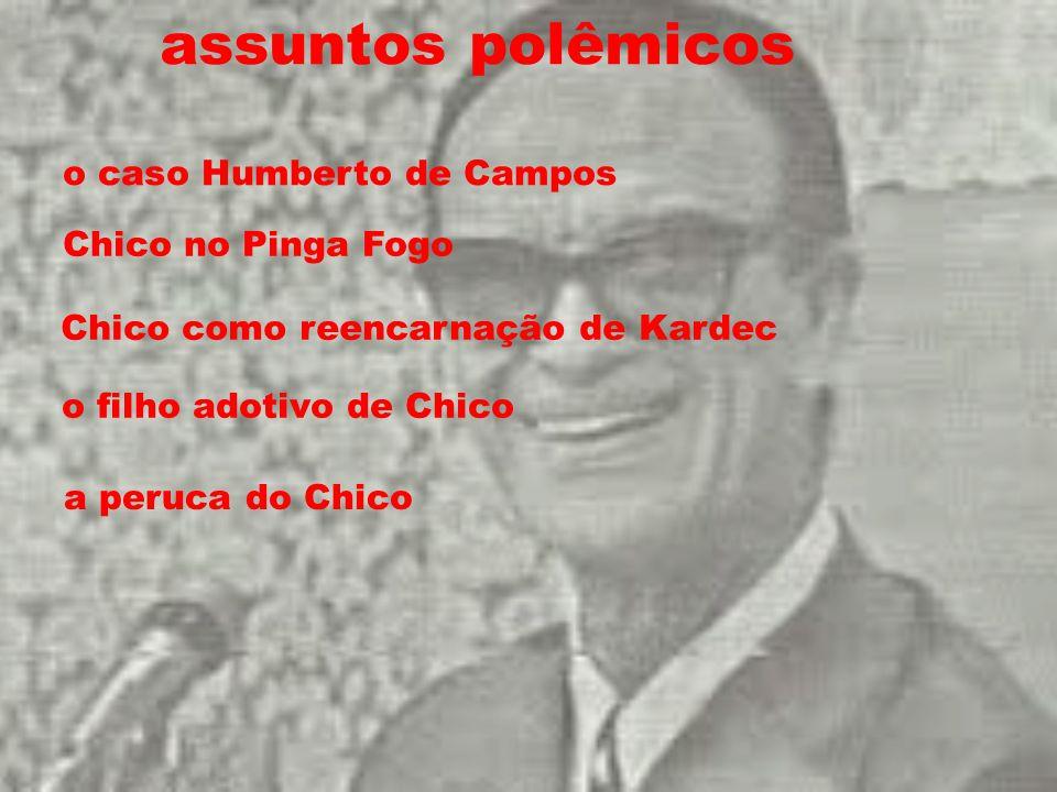 assuntos polêmicos o caso Humberto de Campos Chico no Pinga Fogo