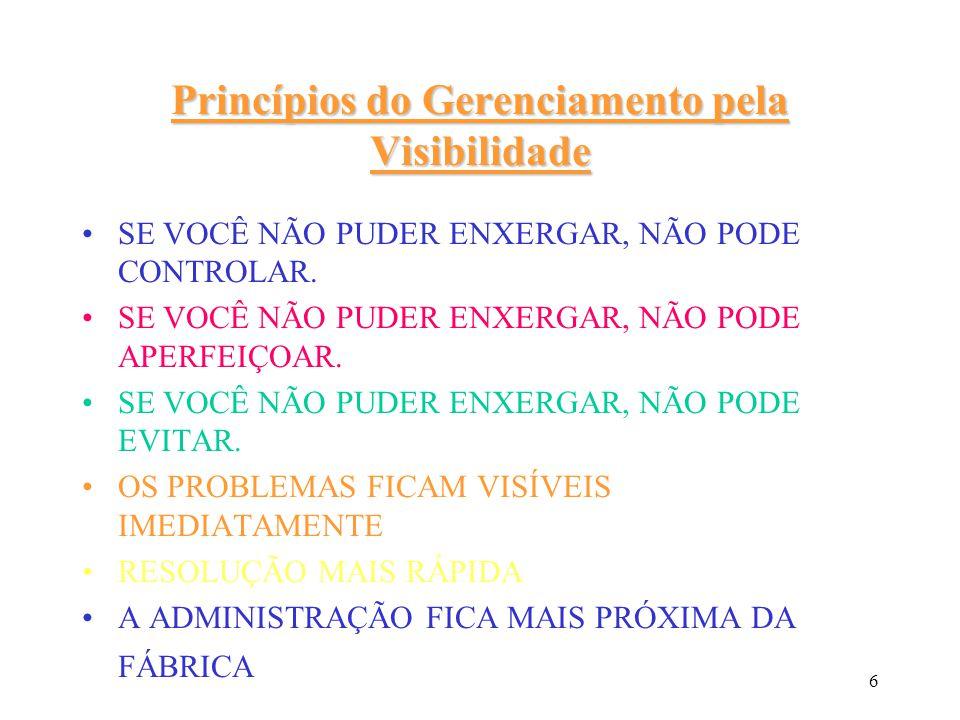 Princípios do Gerenciamento pela Visibilidade