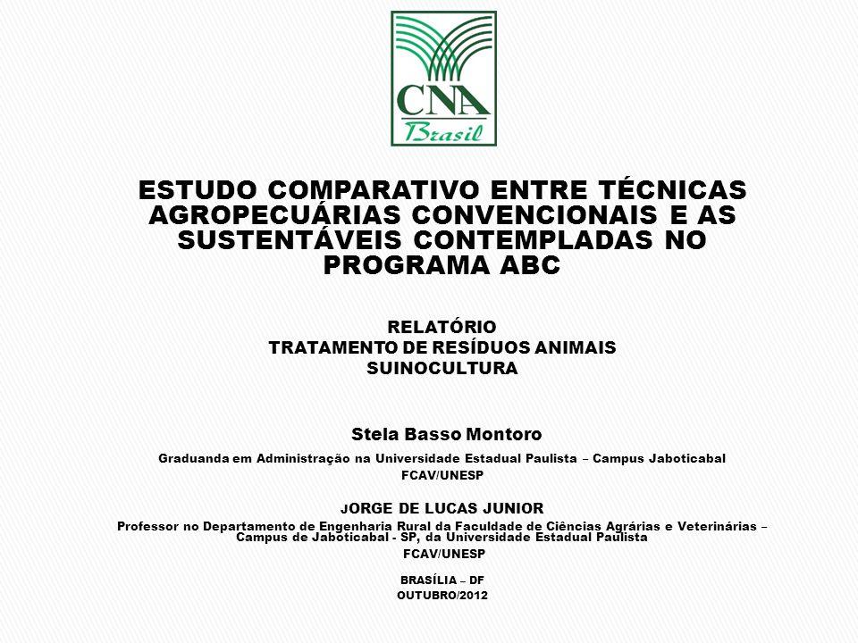 TRATAMENTO DE RESÍDUOS ANIMAIS