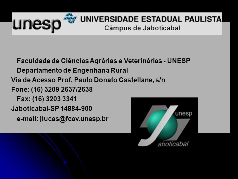 Faculdade de Ciências Agrárias e Veterinárias - UNESP