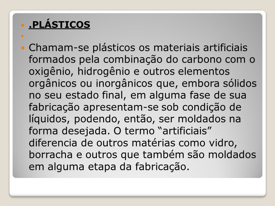 .PLÁSTICOS