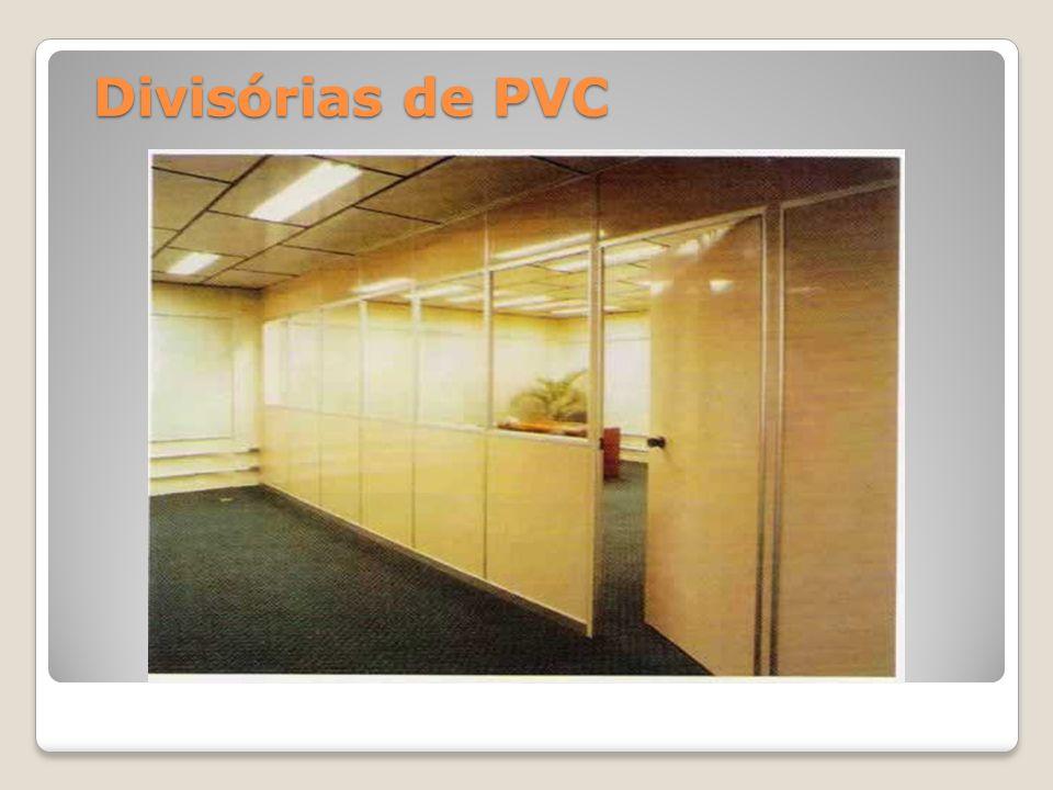 Divisórias de PVC