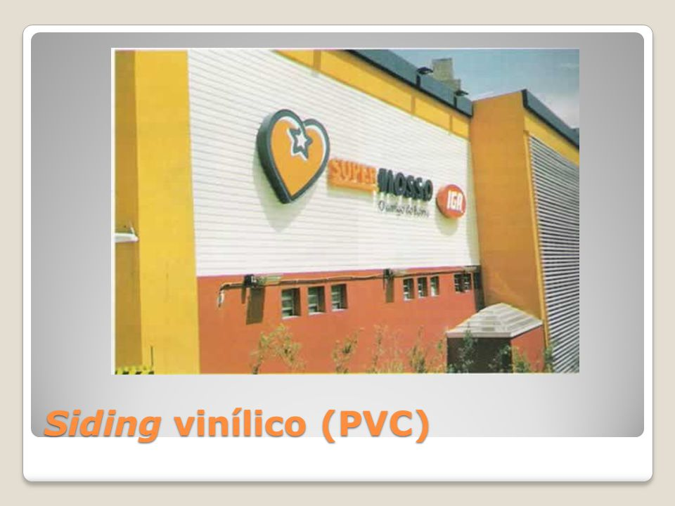 Siding vinílico (PVC)