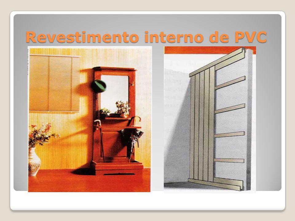 Revestimento interno de PVC