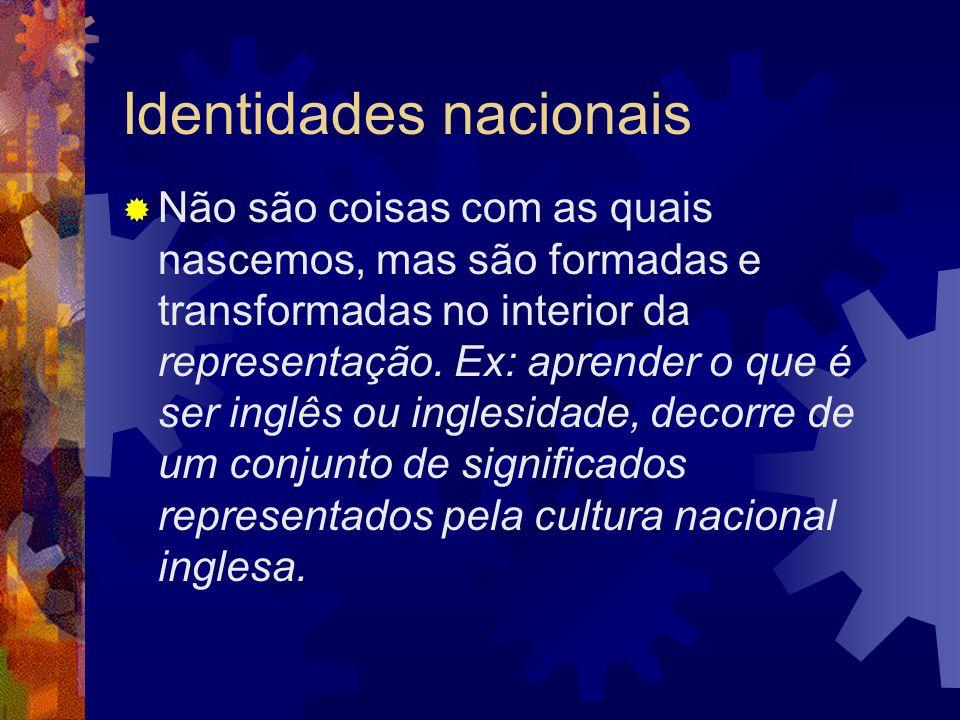 Identidades nacionais