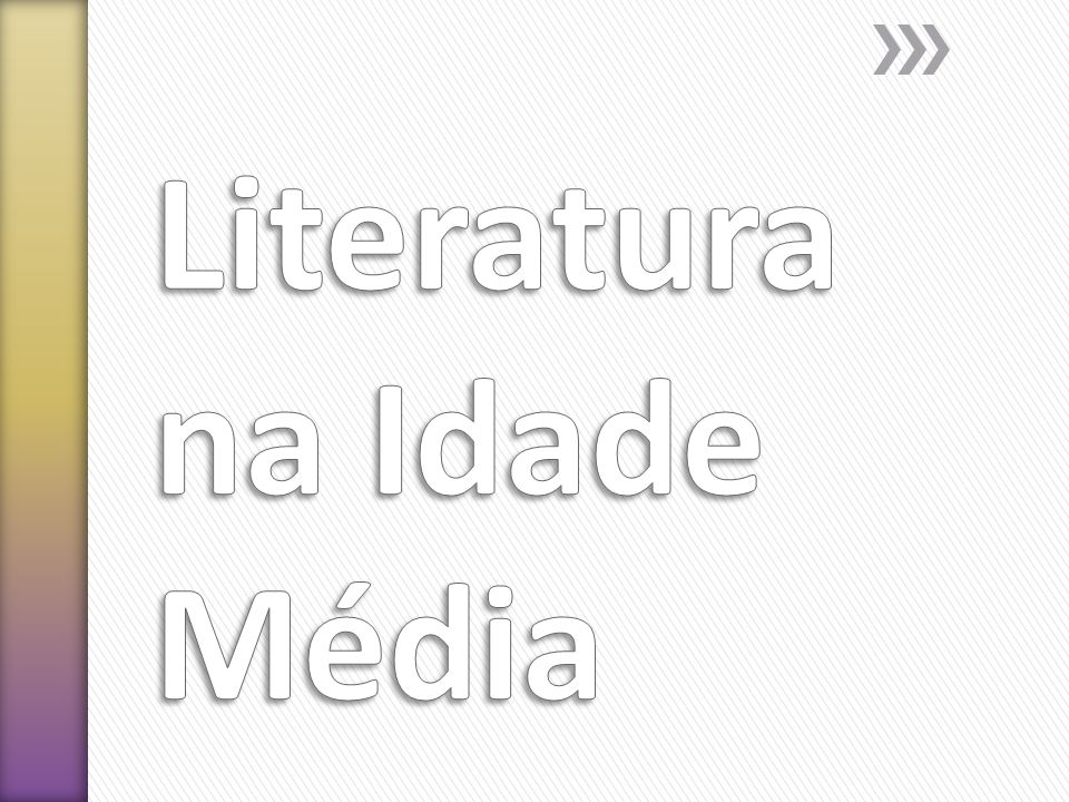 Literatura na Idade Média