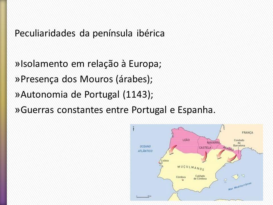 Peculiaridades da península ibérica