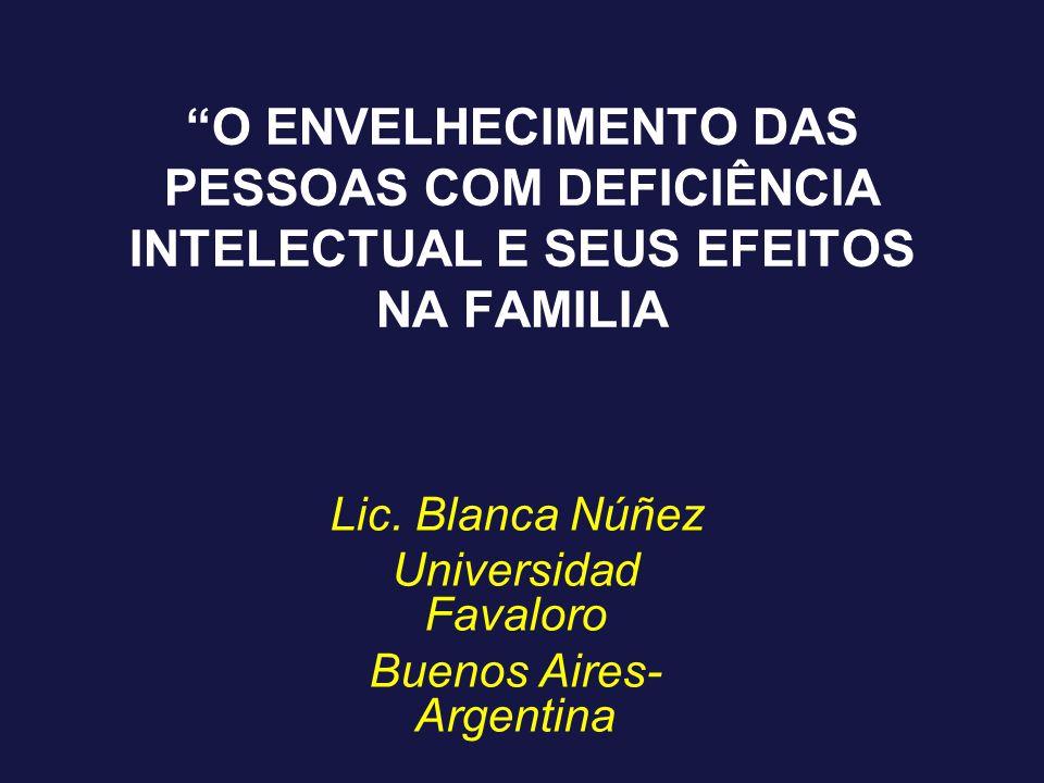 Lic. Blanca Núñez Universidad Favaloro Buenos Aires- Argentina