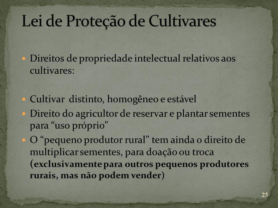 Lei de Proteção de Cultivares