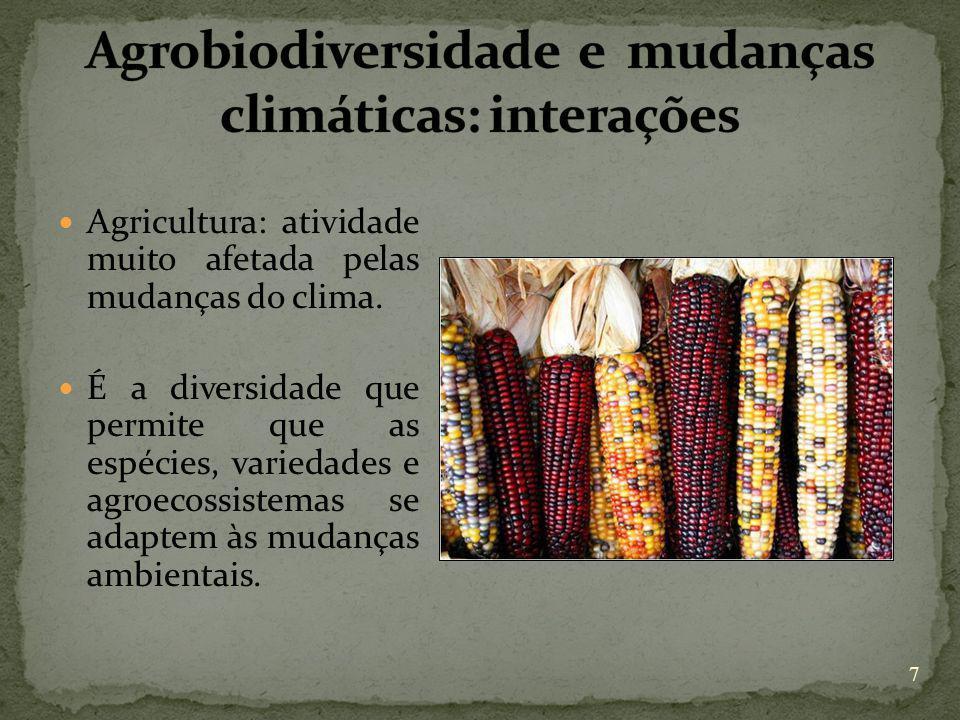 Agrobiodiversidade e mudanças climáticas: interações
