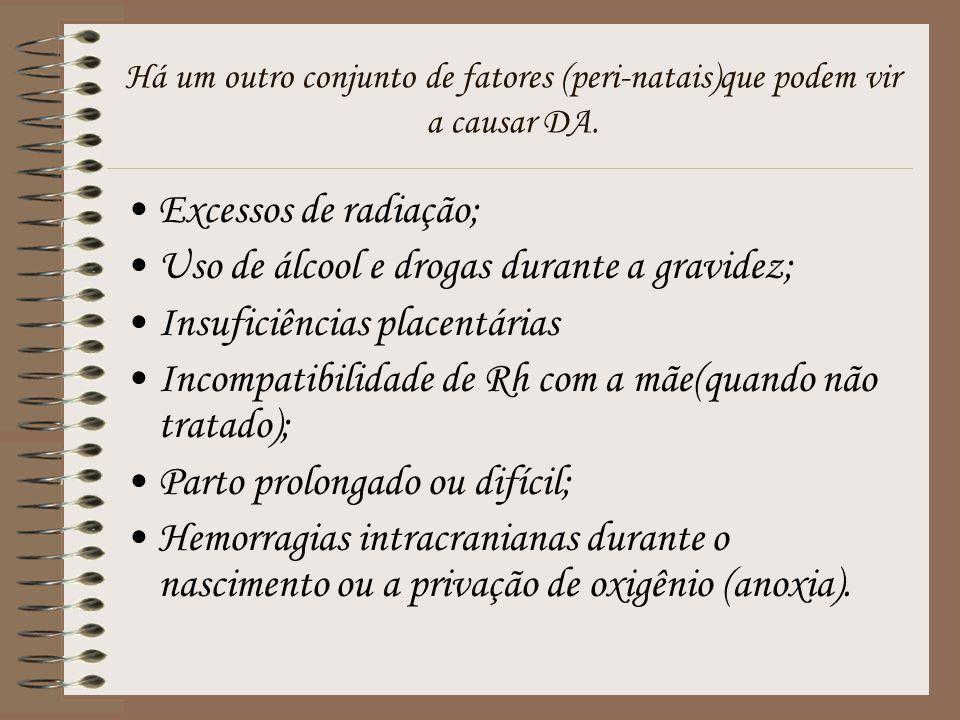 Uso de álcool e drogas durante a gravidez; Insuficiências placentárias