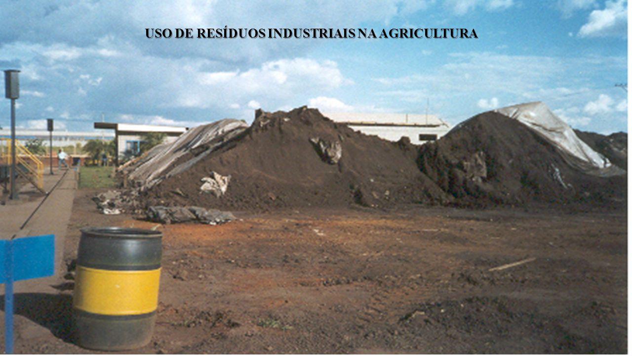 USO DE RESÍDUOS INDUSTRIAIS NA AGRICULTURA