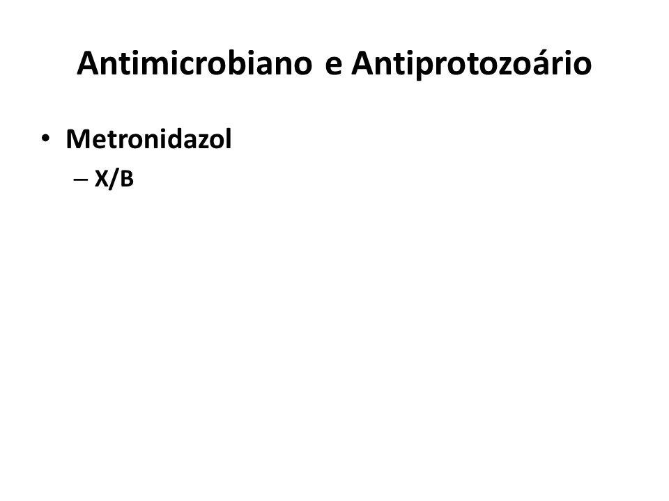 Antimicrobiano e Antiprotozoário