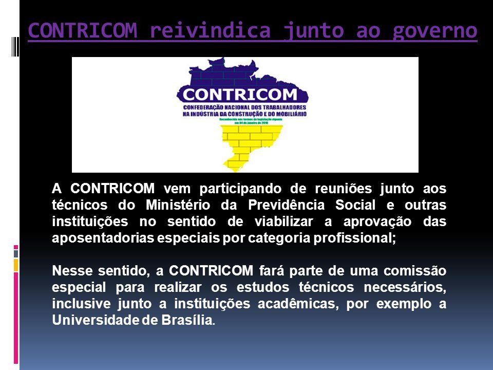 CONTRICOM reivindica junto ao governo