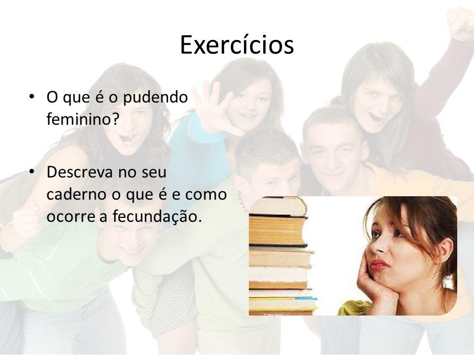 Exercícios O que é o pudendo feminino