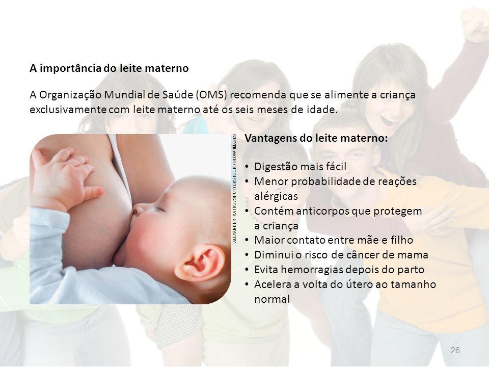 A importância do leite materno