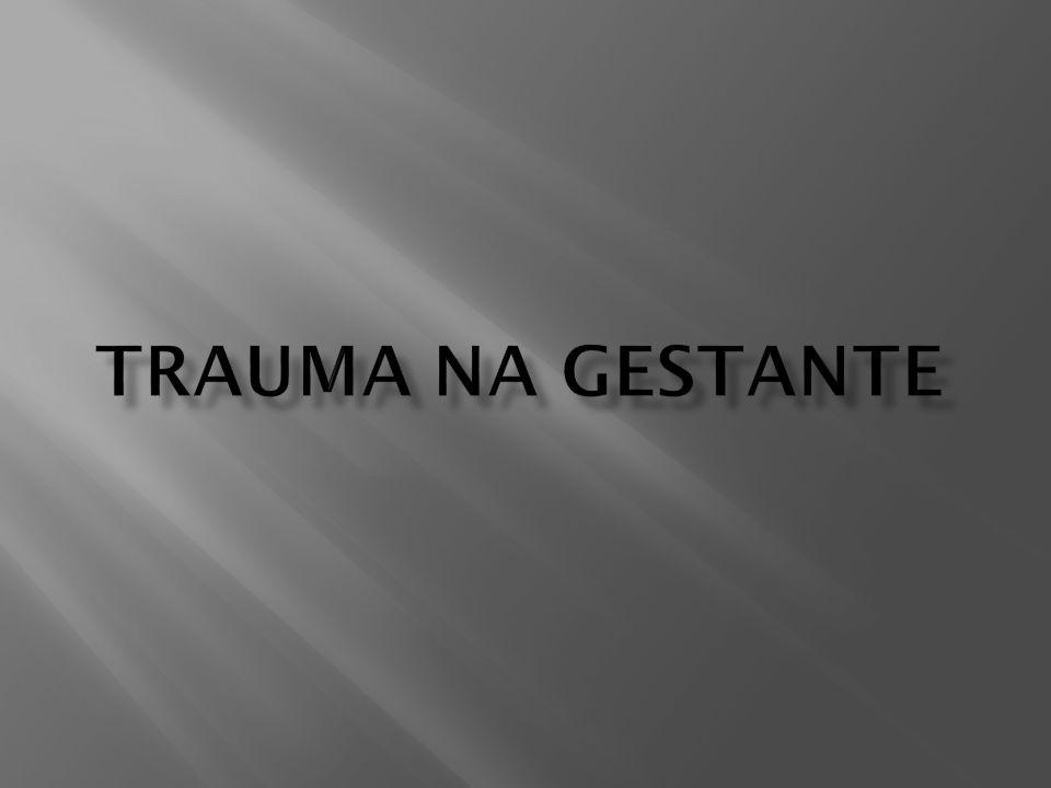 Trauma na gestante