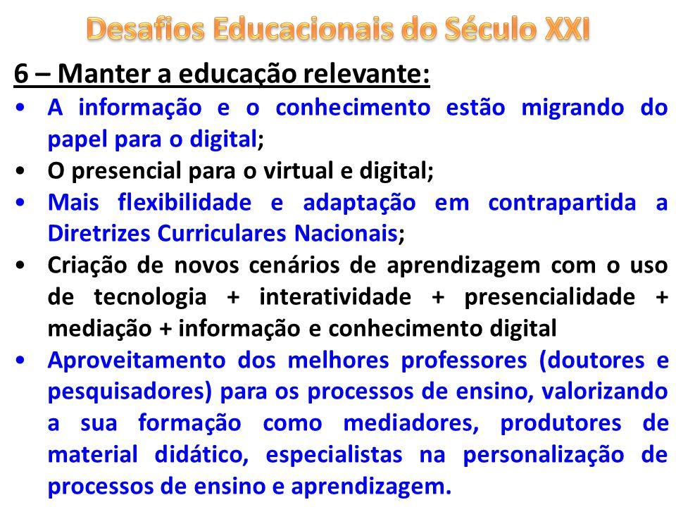 Desafios Educacionais do Século XXI