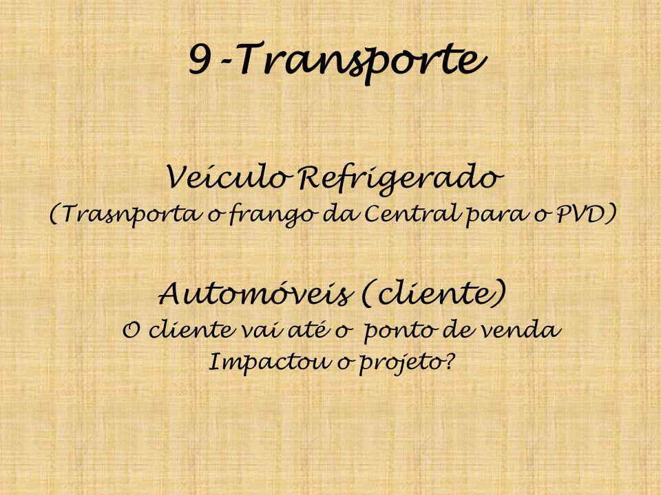 9-Transporte Veículo Refrigerado Automóveis (cliente)