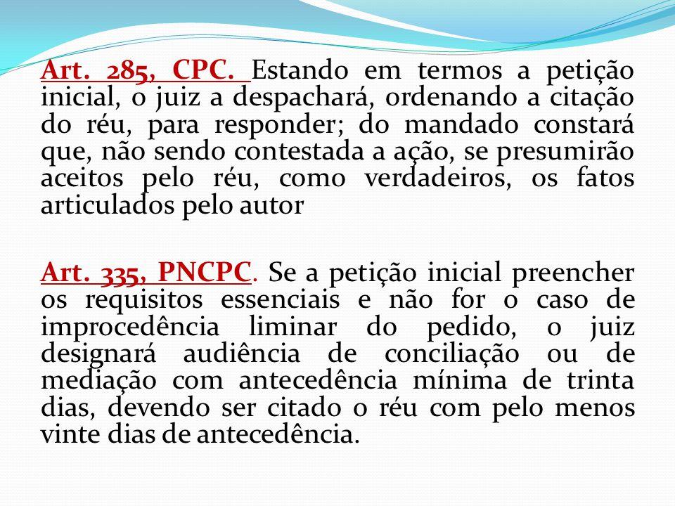 Art. 285, CPC.