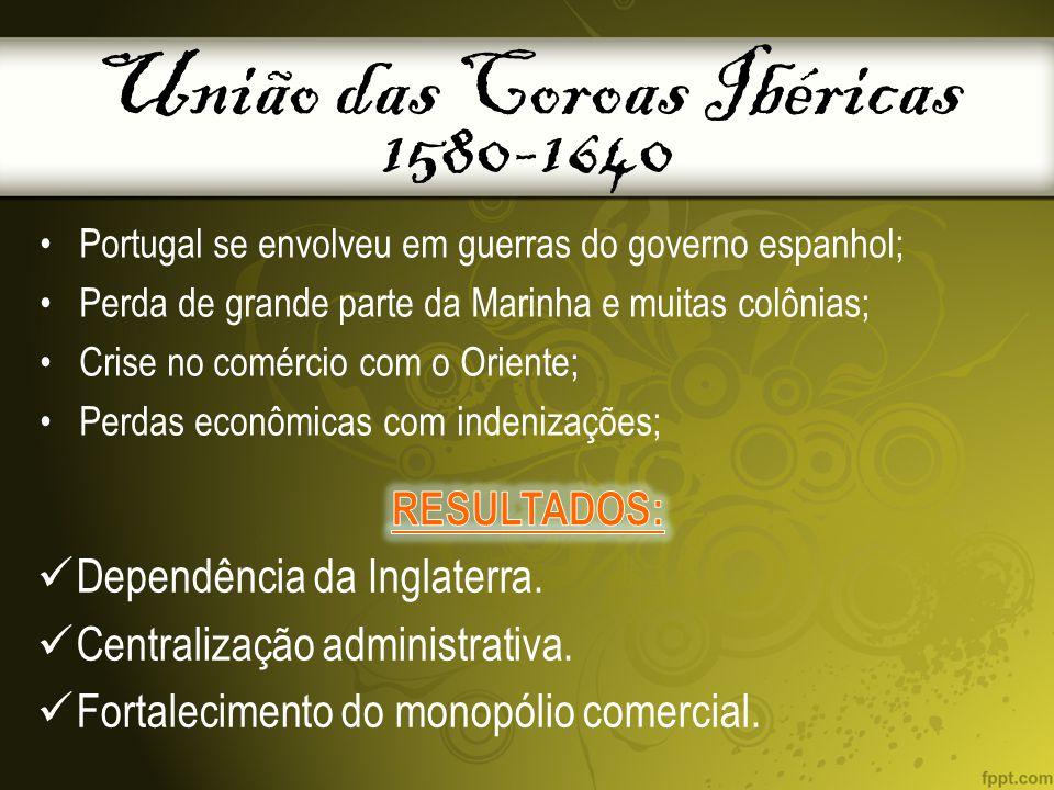 União das Coroas Ibéricas 1580-1640