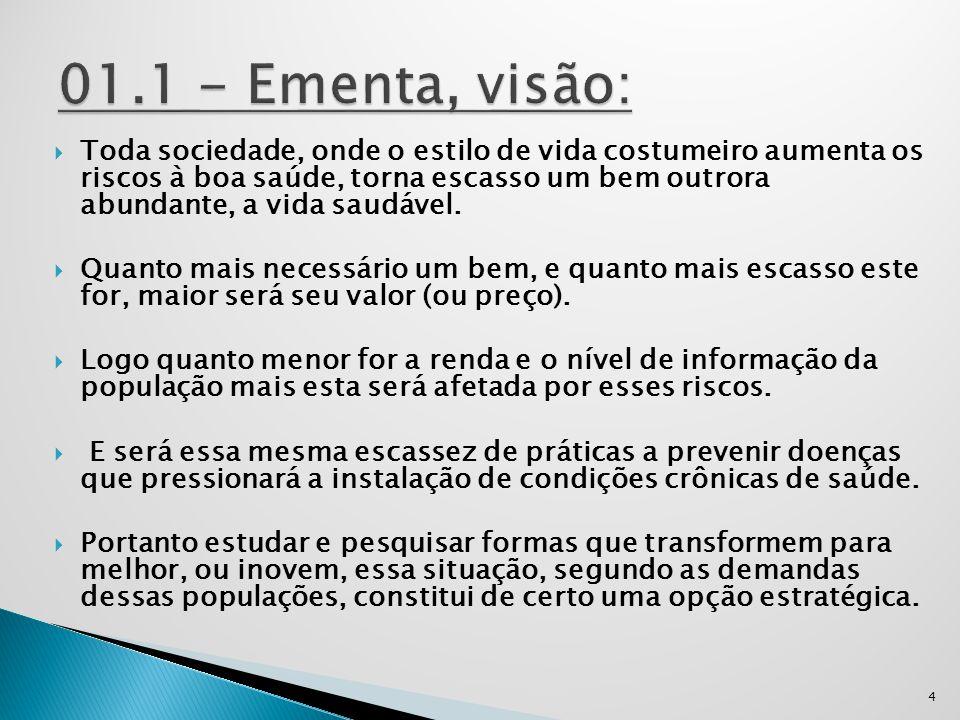 01.1 - Ementa, visão: