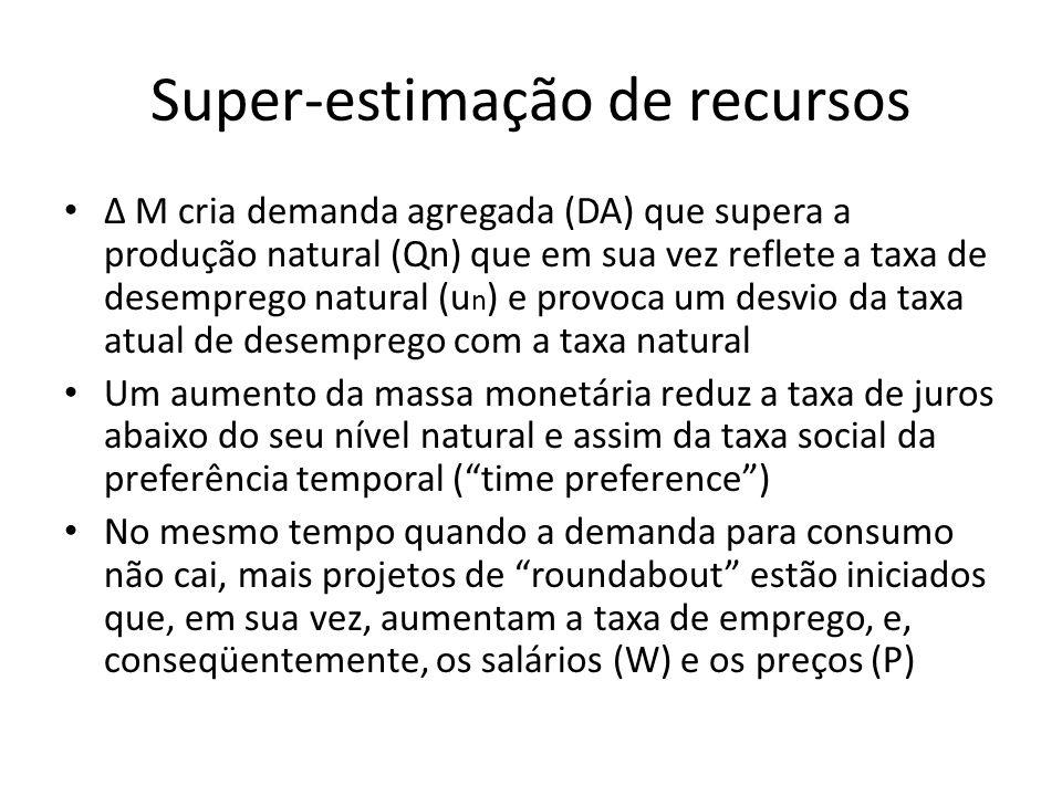 Super-estimação de recursos