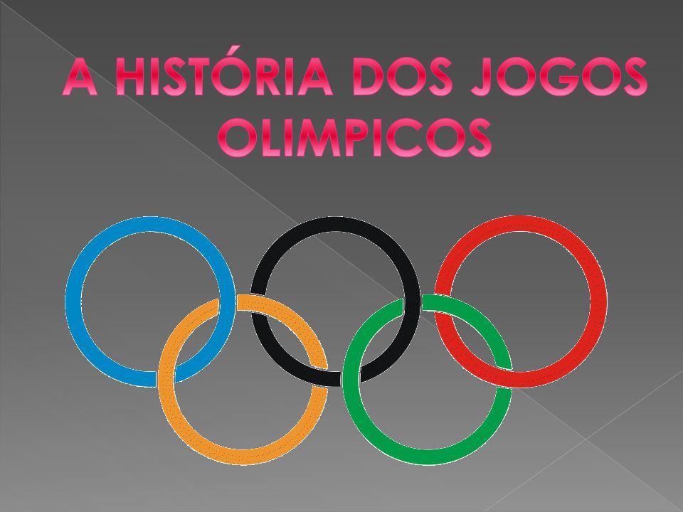 A HISTÓRIA DOS JOGOS OLIMPICOS
