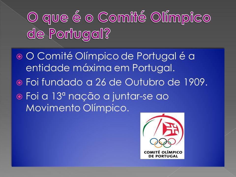 O que é o Comité Olímpico de Portugal