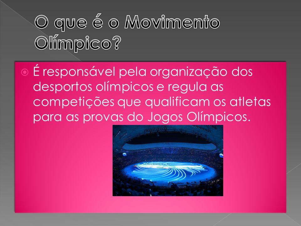 O que é o Movimento Olímpico